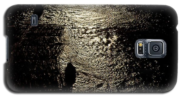 Tugs Towing Log Boom 2  Galaxy S5 Case by Lyle Crump
