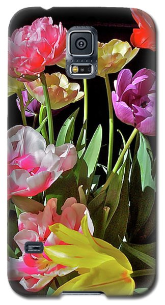 Galaxy S5 Case featuring the photograph Tulip 8 by Pamela Cooper