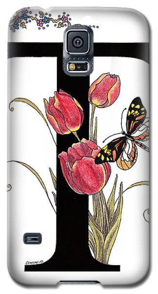 Tulip And Tiger Pierid Butterfly Galaxy S5 Case