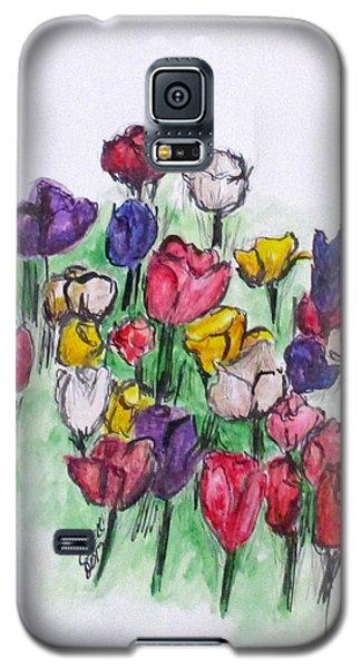 Tulip Bed Galaxy S5 Case