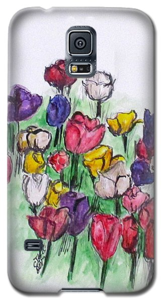 Tulip Bed Galaxy S5 Case