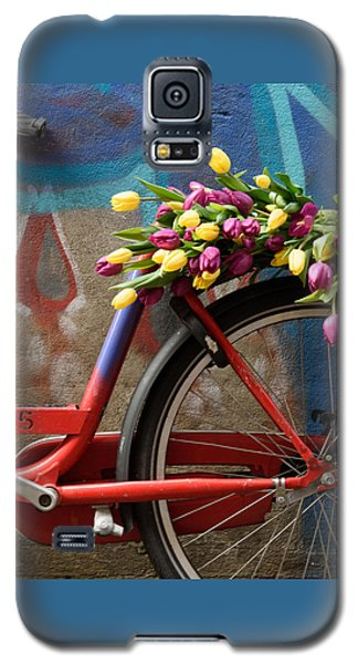 Tulip Bike Galaxy S5 Case by Phyllis Peterson