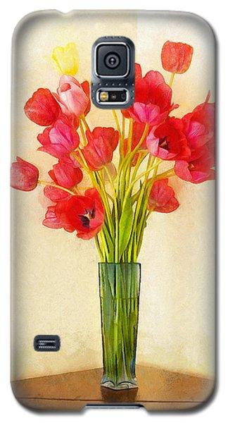 Tulip Bouquet Galaxy S5 Case
