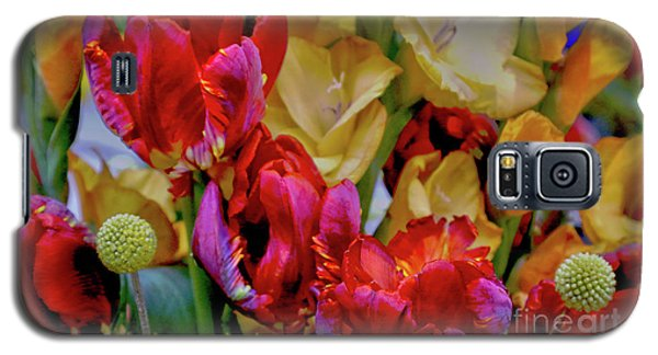 Tulip Bouquet Galaxy S5 Case by Sandy Moulder