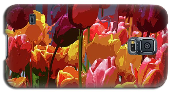 Tulip Confusion Galaxy S5 Case by Sharon Talson