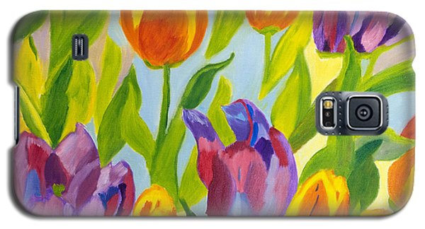 Tulip Fest Galaxy S5 Case by Meryl Goudey