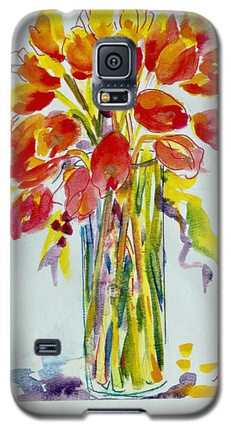 Tulip Fire Element Galaxy S5 Case