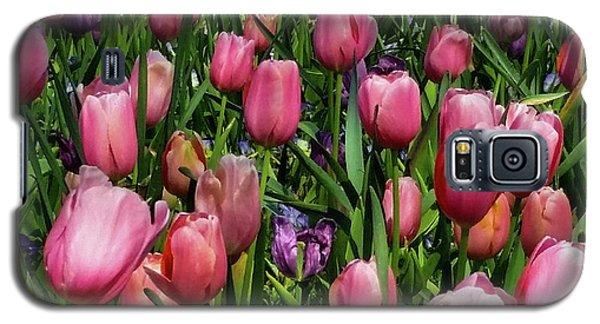 Tulip Flowers  Galaxy S5 Case