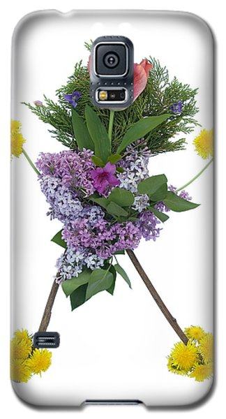 Galaxy S5 Case featuring the digital art Tulip Head by Lise Winne