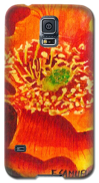 Tulip Prickly Pear Galaxy S5 Case