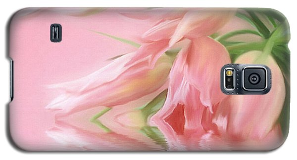 Galaxy S5 Case featuring the photograph Tulip Wish by Elaine Manley