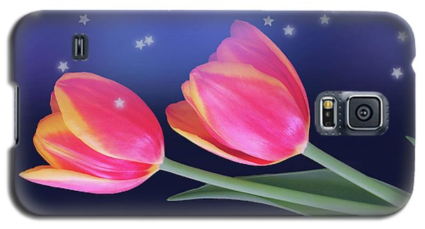 Tulips And Stars Galaxy S5 Case