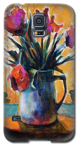 Tulips At Sunset Galaxy S5 Case