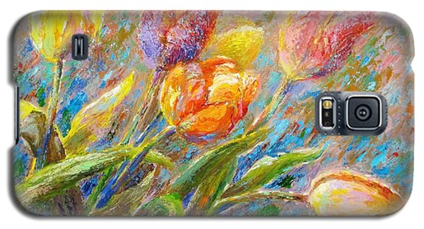 Tulips Galaxy S5 Case by Bonnie Goedecke