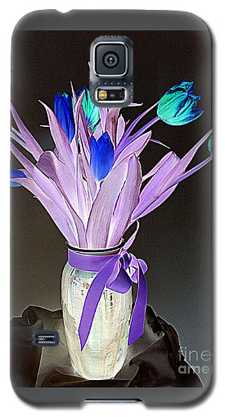 Galaxy S5 Case featuring the photograph Tulips Cancer 1 by Richard W Linford