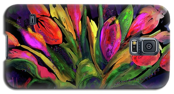 Tulips Galaxy S5 Case by DC Langer