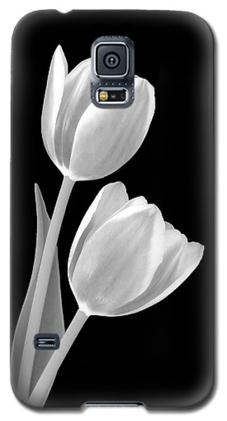 Tulips In Black And White Galaxy S5 Case