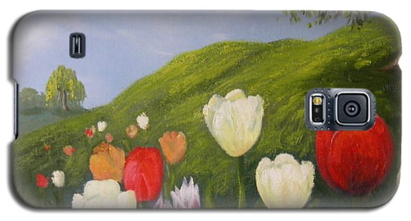 Tulips In Spring Galaxy S5 Case