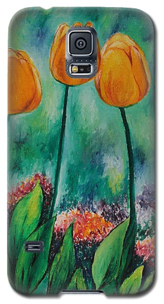 The Three Tulips Galaxy S5 Case