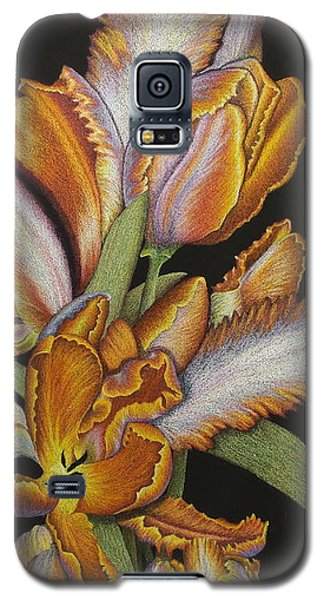 Tulips Of Fire Galaxy S5 Case
