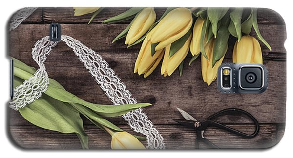 Galaxy S5 Case featuring the photograph Tulips Of Spring by Kim Hojnacki