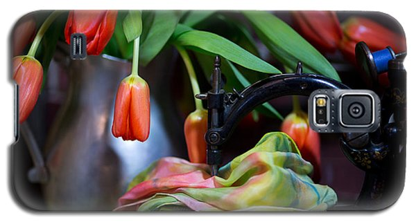 Galaxy S5 Case featuring the photograph Tulips by Sharon Jones