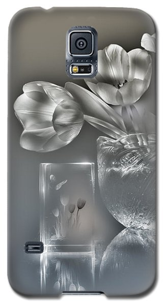 Tulips, Silver Variant Galaxy S5 Case