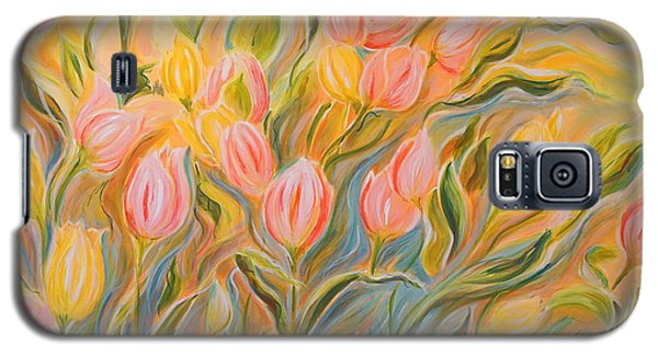 Tulips Galaxy S5 Case by Theresa Marie Johnson