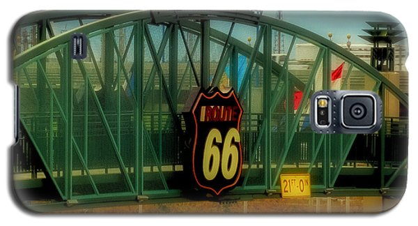 Tulsa Route 66 Sign Galaxy S5 Case