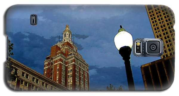 Tulsa Streetscape Galaxy S5 Case