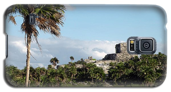 Galaxy S5 Case featuring the photograph Tulum Mexico by Dianne Levy
