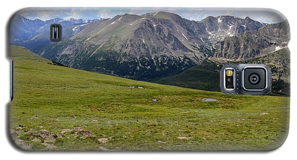 Galaxy S5 Case featuring the photograph Tundra Of The Rockies by Scott Kingery