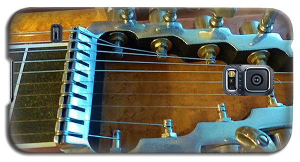 Tuning Pegs On Sho-bud Pedal Steel Guitar Galaxy S5 Case