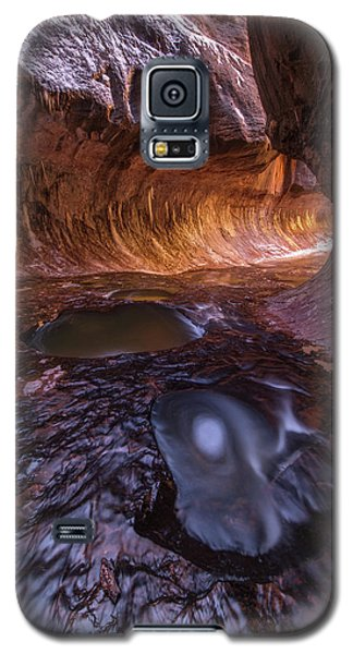 Galaxy S5 Case featuring the photograph Tunnel Of Ice And Light by Dustin LeFevre