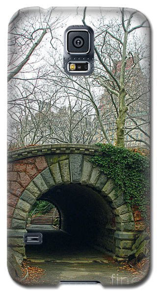 Galaxy S5 Case featuring the photograph Tunnel On Pathway by Sandy Moulder