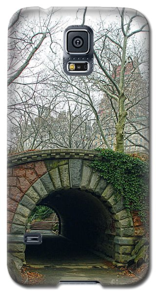 Tunnel On Pathway Galaxy S5 Case by Sandy Moulder