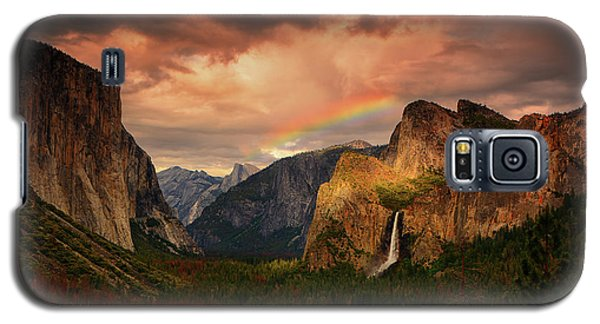 Tunnel View Rainbow Galaxy S5 Case
