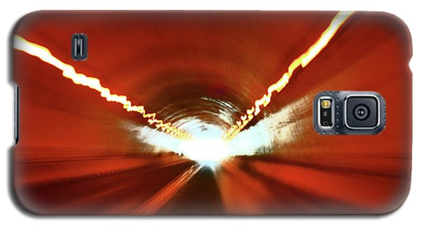 Galaxy S5 Case featuring the photograph Tunnel Vision by Gray  Artus