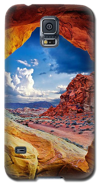 Tunnel Vision Galaxy S5 Case