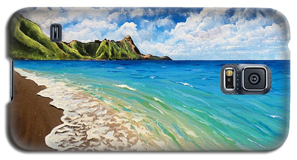 Tunnels Beach Galaxy S5 Case by Chad Berglund