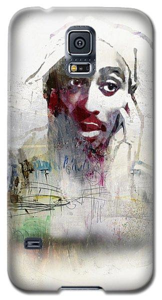 Tupac Graffitti 2656 Galaxy S5 Case by Jani Heinonen