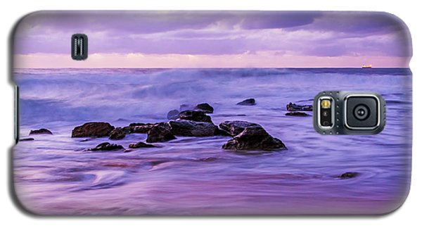 Turbulent Daybreak Seascape Galaxy S5 Case