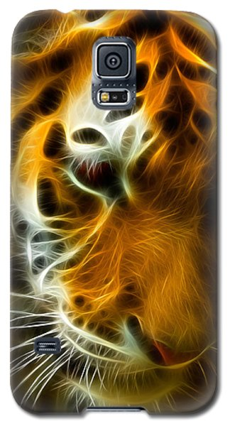 Turbulent Tiger Galaxy S5 Case