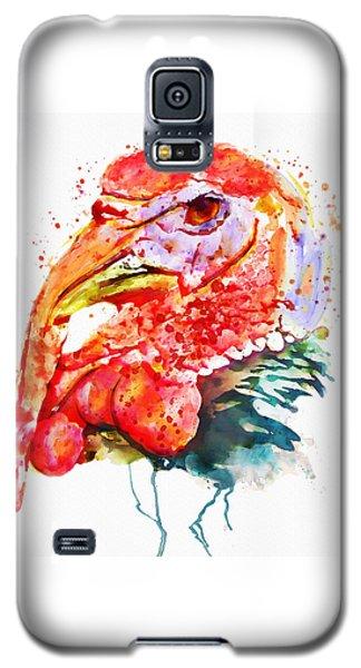 Turkey Head Galaxy S5 Case by Marian Voicu