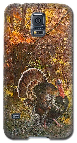 Turkey In The Woods Galaxy S5 Case