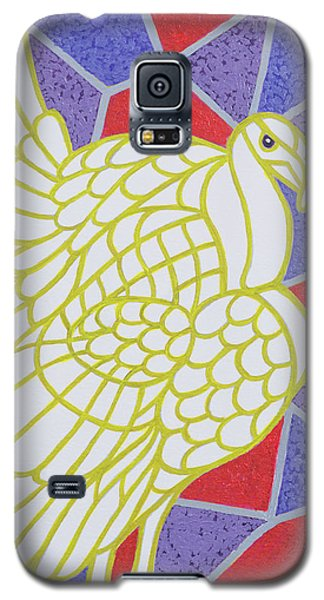 Turkey On Stained Glass Galaxy S5 Case