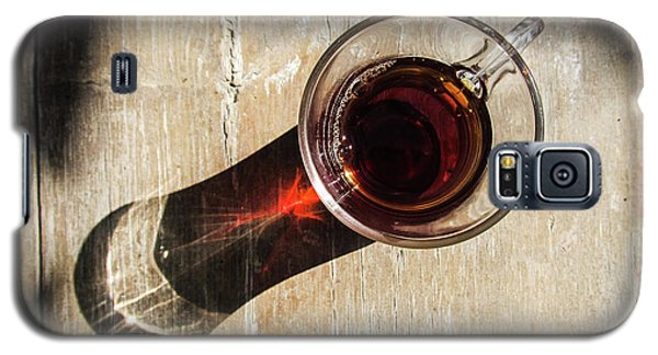 Turkish Tea On A Wooden Table Galaxy S5 Case