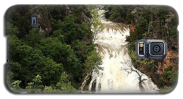 Turner Falls Waterfall Galaxy S5 Case