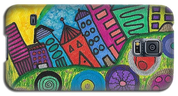 Turning Funky City On Its Ear Galaxy S5 Case
