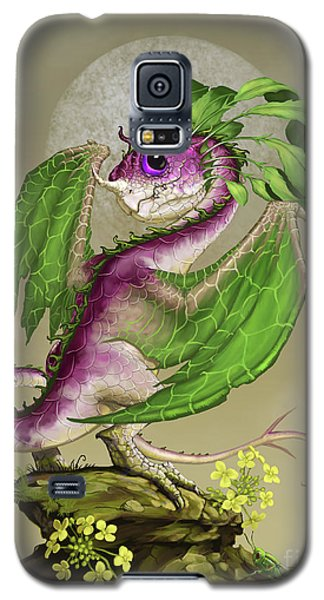 Galaxy S5 Case featuring the digital art Turnip Dragon by Stanley Morrison
